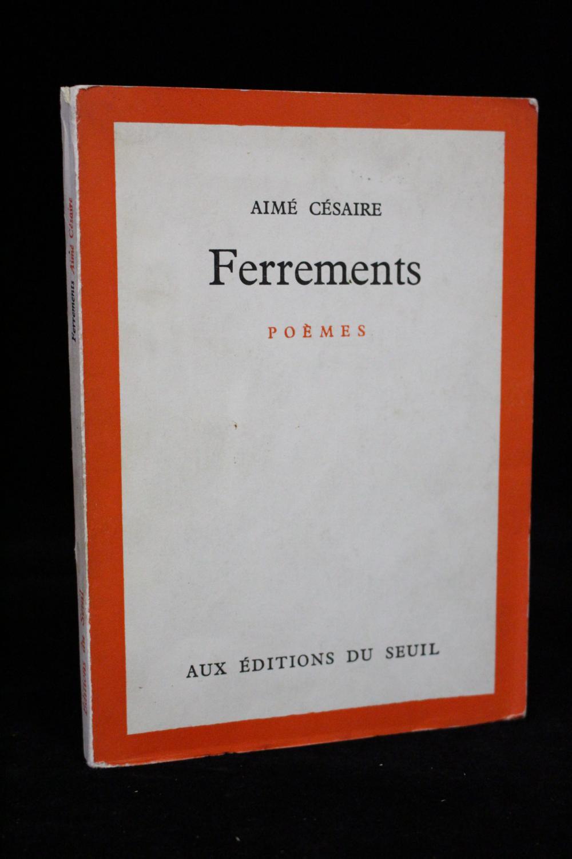 Ferrements By Cesaire Aimé Seuil Couverture Souple Signed