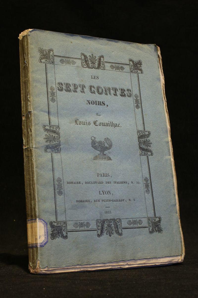 Les sept contes noirs COUAILHAC Louis