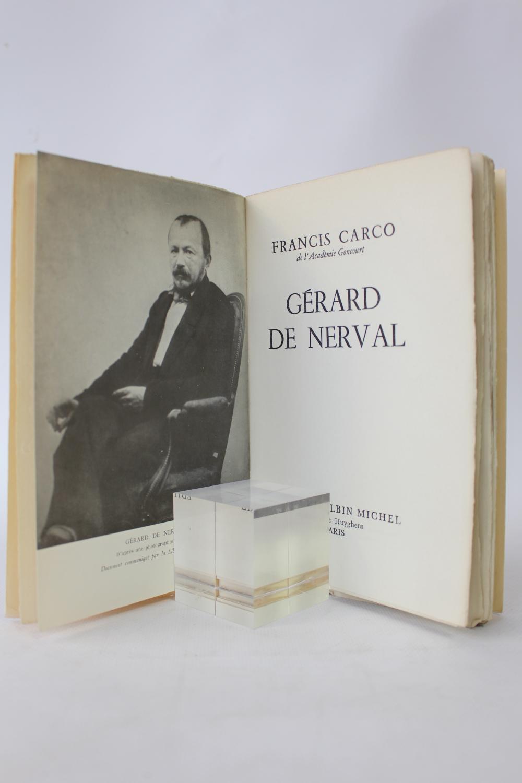 Gérard de Nerval CARCO Francis [ ] [Softcover] (bi_19804663443) photo