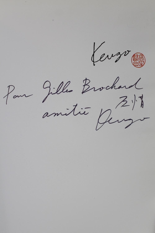 Kenzo SAINDERICHIN Ginette Hardcover - Du May, Paris 1989, 24,5x27,5cm, reliure de l'éditeur. - Edition originale pour laquelle il n'a pas été tiré de grands papiers. Reliure de l'éditeur