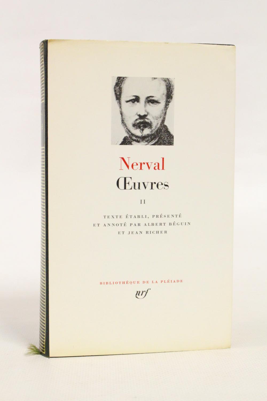 Oeuvres, Tome II NERVAL Gérard de [ ] [Hardcover] (bi_30229043787) photo