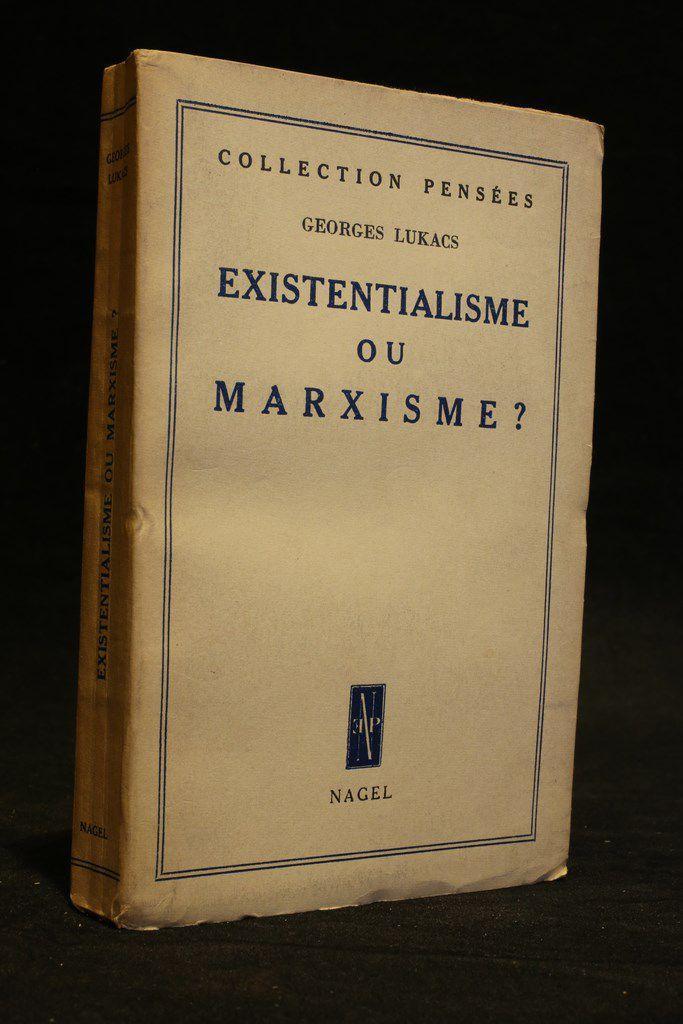 Existentialisme ou marxisme ?