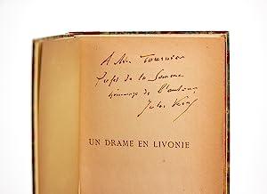 Un drame en Livonie: VERNE Jules