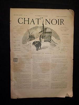 Le Chat noir. Huitième année, n°402 du samedi 28 septembre 1889: COLLECTIF