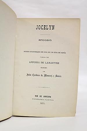Jocelyn: LAMARTINE Alphonse de & SOUZA João Cardoso de Menezes