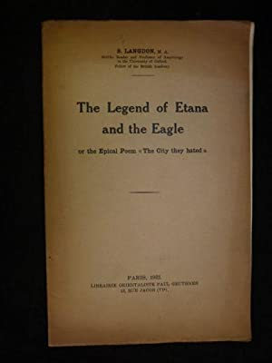 The legend of Etana and the eagle