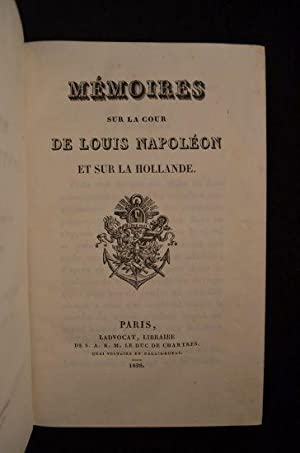 Mémoires sur la cour de Louis Napoléon: BALZAC Honoré de
