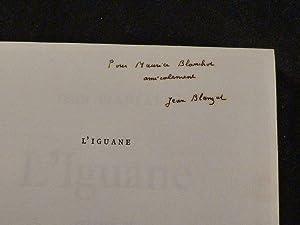L'iguane: BLANZAT Jean