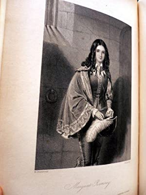 Beautés de Walter Scott. Portraits des principales héroïnes de ses romans. Peints et gravés par les...