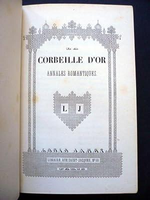 La corbeille d'or. Annales romantiques: KEEPSAKE CORBEILLE D'OR