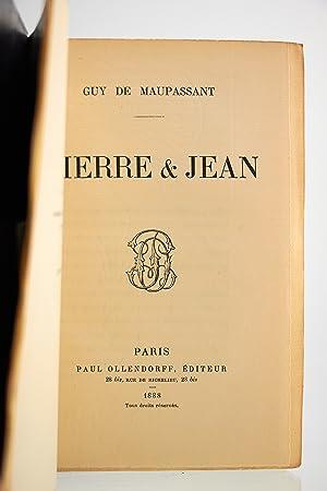 Pierre et Jean: MAUPASSANT Guy de