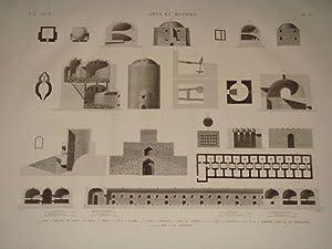 DESCRIPTION DE L'EGYPTE. Arts et métiers. Four: CONTE & DEBUIGNE