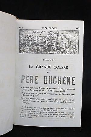 Le père Duchêne, collection complète du N°1: VERMERSCH Eugène &