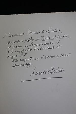 Lettres inédites publiées avec une introduction et: SAINTE-BEUVE Charles-Augustin &