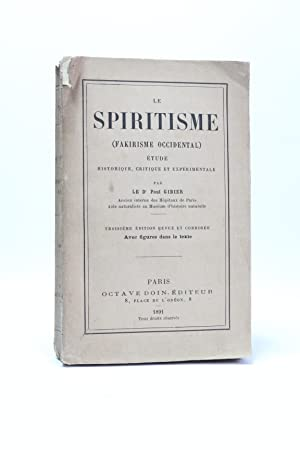 Le spiritisme (fakirisme occidental)