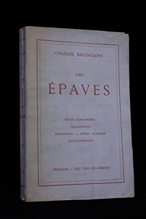 Les épaves: BAUDELAIRE Charles ROPS Félicien