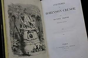 Aventures de Robinson Crusoé: DEFOE Daniel GRANDVILLE