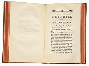 Oeuvres posthumes de Jean-Jacques Rousseau ou recueil: ROUSSEAU Jean-Jacques
