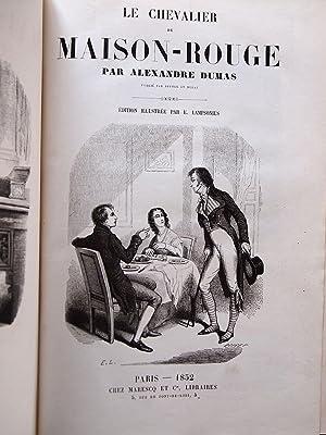 Le chevalier de Maison-Rouge: DUMAS Alexandre LAMPSONIUS