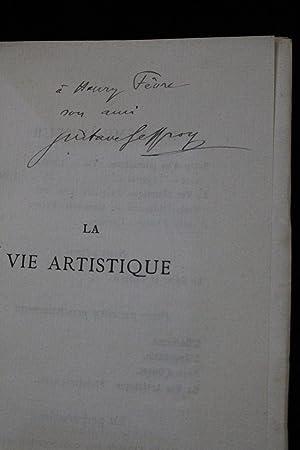 La vie artistique, deuxième série: GEFFROY Gustave RODIN