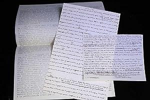 Le premier roman de Joyce. Manuscrit autographe: BLANCHOT Maurice (JOYCE
