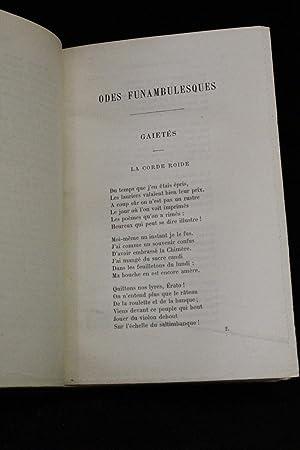 Odes funambulesques: BANVILLE Théodore de