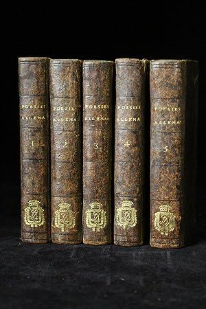 Choix de poésies allemandes [Avec] Daphnis et: HUBER Michael &
