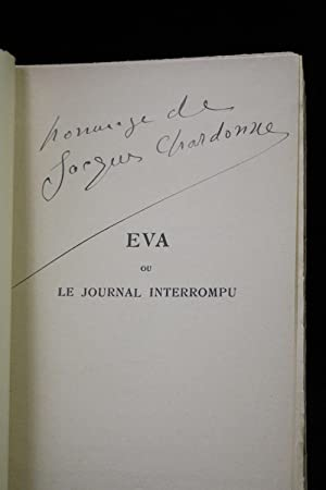 Eva ou le journal interrompu: CHARDONNE Jacques