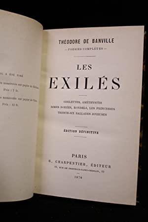 Les exilés: BANVILLE Théodore de
