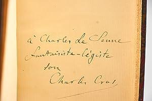 Le coffret de santal: CROS Charles