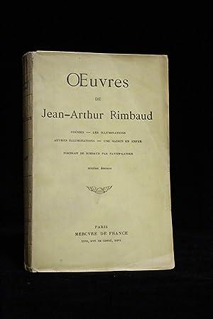 Oeuvres. Poésies - Les Illuminations - Autres: RIMBAUD Arthur FANTIN-LATOUR