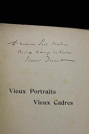 Vieux portraits vieux cadres: DRUMONT Edouard COINDRE