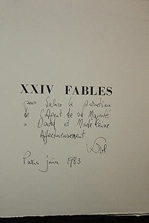 XXIV fables de La Fontaine: LA FONTAINE Jean