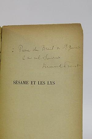 Sésame et les lys: PROUST Marcel &