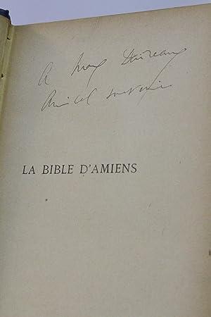La bible d'Amiens: PROUST Marcel &