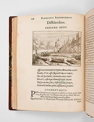 Emblemata Florentii Schoonhovii I. C. Goudani: SCHOONHOVEN Florens