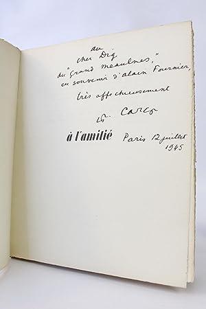 A l'amitié: CARCO Francis WARNOD