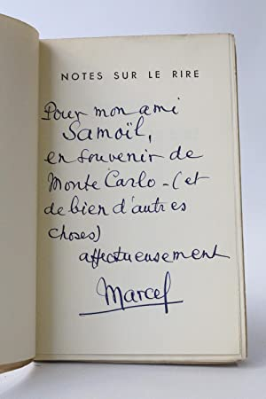 Notes sur le rire
