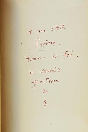 Tombeau de Jean Letellier: SUARES André