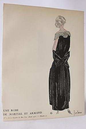 Une robe de Martial et Armand (pl.52,: MARTIAL & ARMAND