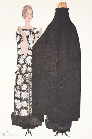 La Cape admirable. Robe et manteau, pour: MARTIAL & ARMAND