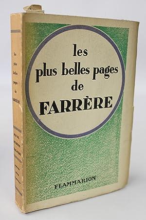 Les plus belles pages de Farrère: FARRERE Claude