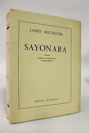 Sayonara: MICHENER James