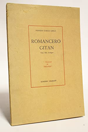 Romancero gitan: GARCIA LORCA Federico