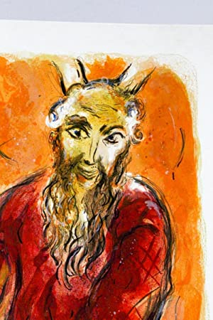 Moïse et Josué] Then came Amalek and: CHAGALL Marc