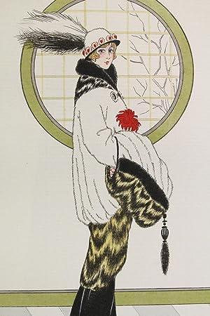 Costumes parisiens. Parure d'hermine et putois (pl.127,: LOEZE