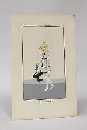 Costumes parisiens. Robe de fillette (pl.131, Journal: RAY Jean