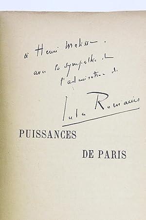 Puissances de Paris: ROMAINS Jules
