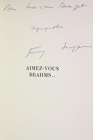 Aimez-vous Brahms: SAGAN Françoise