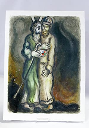 Aaron rencontre Moïse] Then the Lorde sayde: CHAGALL Marc